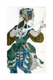 The Shah of Persia  Costume Design for a Ballets Russes Production of Scheherazade  C1913