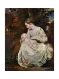 Mrs Richard Hoare and Child  1763