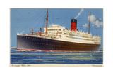 Cunard Line Steamship RMS 'Franconia  C1923-C1939