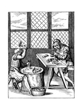 Dice Maker's Workshop  16th Century