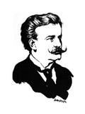 Moriz Rosenthal  Polish-American Pianist  1912