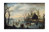 Ice Skaters  17th Century