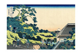 Sundai in Edo (From a Series 36 Views of Mount Fuj)  1830-1833