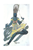 Le Dieu Bleu (The Blue God)  Ballet Costume Design  1911