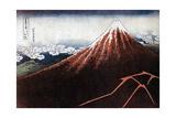 Fuji Above the Lightning  C1823