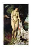 Bather (La Baigneuse Au Griffon)  1870
