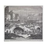 Blackfriars Bridge  London  1863
