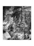 The Burning of the Temple at Ephesus  1753