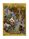 Folio from Haft Awrang (Seven Throne)  by Jami  1539-1543