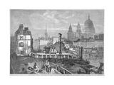 Blackfriars Bridge  London  1864
