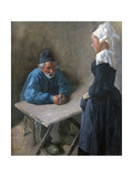 The Engagement of the Maidservant  C1864-1900