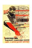 Soviet Political Agitation Art  1931