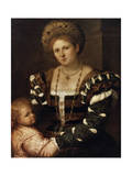 Portrait of a Lady with a Boy  1530S