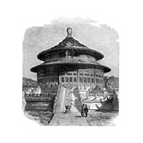 The Temple of Heaven  Peking  C1890