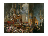The Crowning of Tsarina Maria Alexandrovna of Russia  Moscow  1856