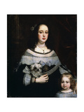 Portrait of a Lady and a Little Girl  C1660