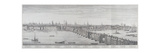 London Bridge  London  1749