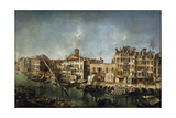 View of the Canal Grande from the Fondamenta Del Vin  1736-1737
