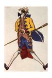 Battista  Costume Design for a Comedy by Carol Goldoni  1917