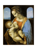 The Litta Madonna  1490