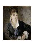 Lady in Black  1876