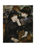Two Girls in Black  1880-1882