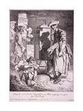 Woman with a Raree Show  Cries of London  1760