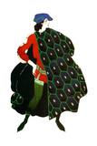 Costume Design for Gabriele D'Annunzio's Ballet 'The Martyrdom of St Sebastian  C1911
