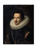 Portrait of Grand Duke of Tuscany Cosimo II De' Medici  17th Century