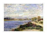 The Seine at Argenteuil  C1883