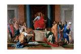 The Judgement of Solomon  1649