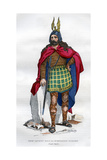 Gaul Chief under the Roman Occupation  1st Century BC - 5th Century Ad (1882-188)