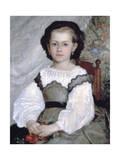 Mademoiselle Romaine Lacaux  (Detail)  1864