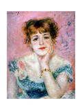 Portrait of the Actress Jeanne Samary  1878