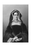 Catherine of Aragon (1485-153)  the First Wife of King Henry VIII  1851