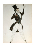 Florestan  Design for a Costume for the Ballet Carnival Composed by Robert Schumann  1919