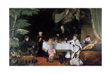 The Luncheon in the Conservatory  1877