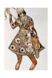 Costume Design for a Ballet by Igor Stravinsky  1913
