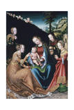 The Mystic Marriage of St Catherine  1516-1518