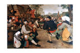 The Peasant Dance  1568-1569