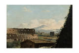 View of the Colosseum  Rome  Late 18Th/Early 19th Century