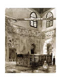 Tomb in a Mosque  Cairo  Egypt  1928