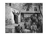 Micah the Moreshite Prophet Preaching to the Israelites  1865-1866