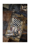 Still Life with a Chessboard  1912