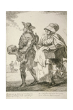Two Spoon Sellers  Cries of London  1760