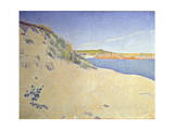 The Beach at Saint-Briac Op 212 (Sandy Seashor)  1890
