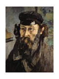 Self-Portrait with a Casquette  1872-1873