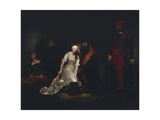 The Execution of Lady Jane Grey  1834