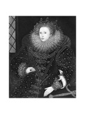Queen Elizabeth  the Ermine Portrait  1585