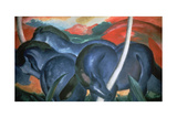 Blue Horses  1911